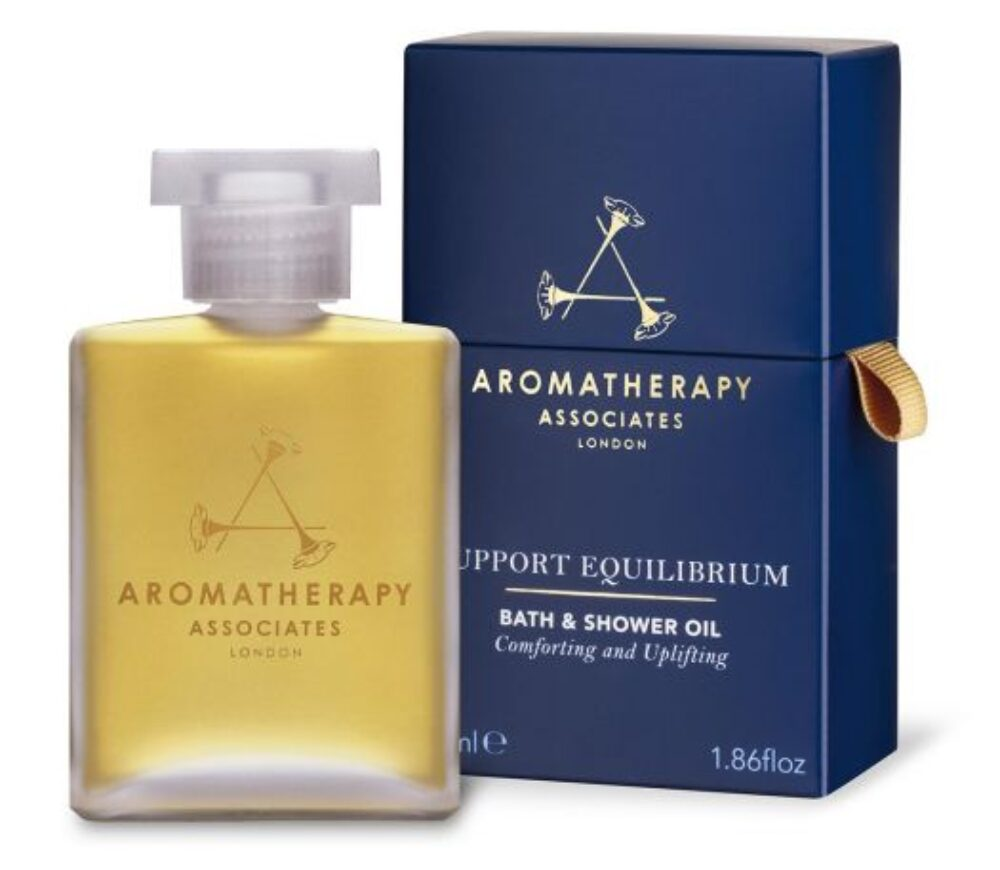 AROMATHERAPY SUPPORT EQUILIBIRIUM BATH AND SHOWER OIL