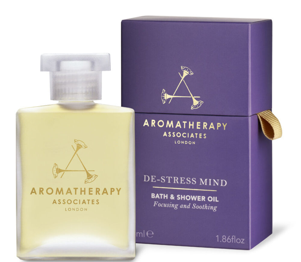 AROMATHERAPY DE-STRESS MIND BATH AND SHOWER OIL