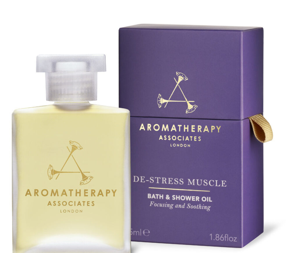AROMATHERAPY DE-STRESS MUSCLE BATH AND SHOWER OIL