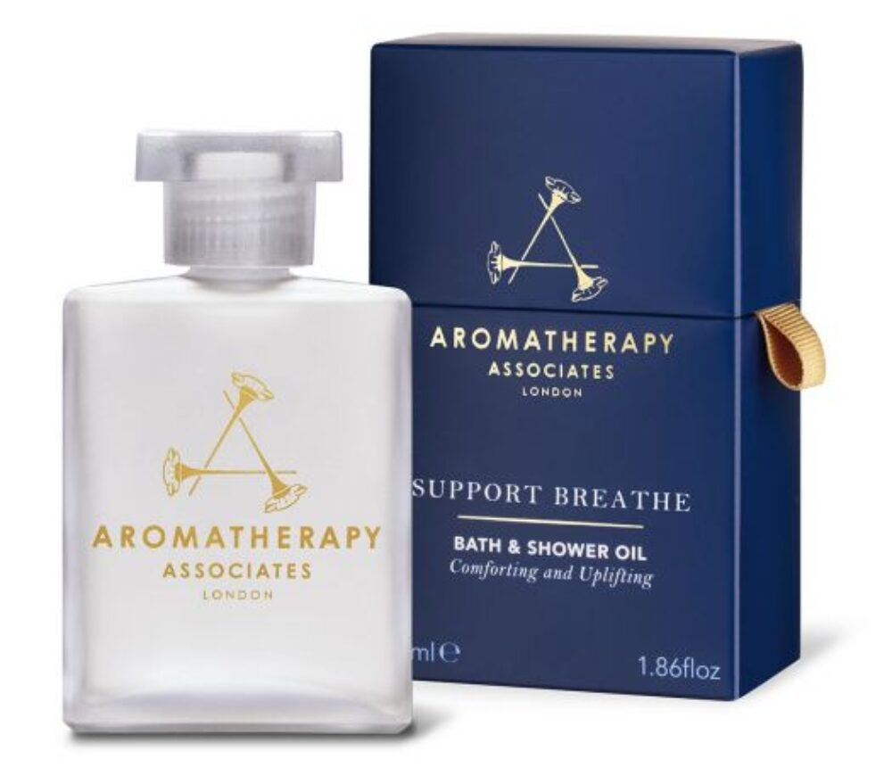 AROMATHERAPY SUPPORT BREATHE BATH AND SHOWER OIL