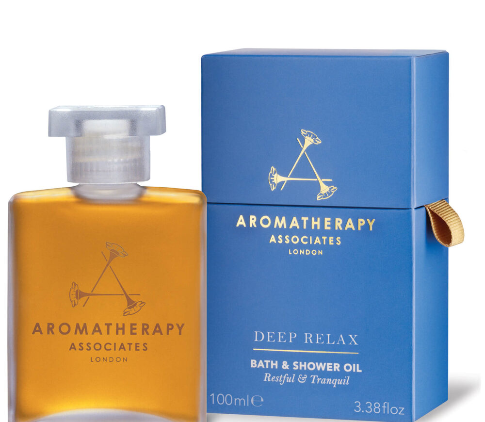 AROMATHERAPY DEEP RELAX BATH AND SHOWER OIL